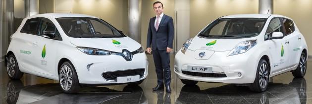 La Alianza Renault-Nissan con una flota de 200 vehículos eléctricos para la COP21