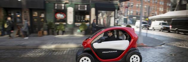 Nissan con su concepto de «micromovilidad» en el Salon de Nueva York 2016