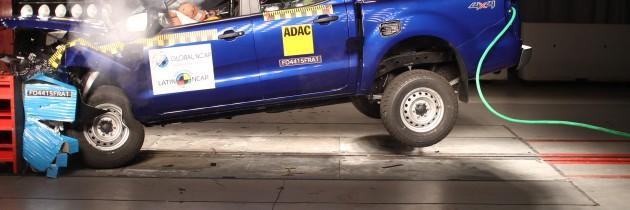 Nuevos resultados Latin NCAP de la Ford Ranger