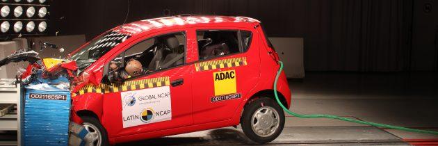 Novedad? Otro cero estrellas de General Motors para LatinNCAP. El Chevrolet Spark GT
