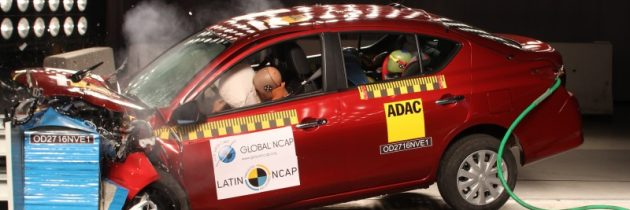 Latin NCAP demuestra las consecuencias de la falta de normas de seguridad adecuadas en la región: Nissan March y Versa pierden estrellas luego de test de auditoria