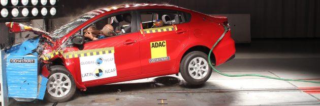 Cero estrellas para el Chevrolet Onix y el Kia Rio Sedán, una nueva desilusión